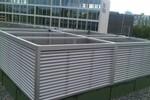 Bild: Dachhauben Lüftungshauben Lamellenhauben zur Schachtentlüftung
